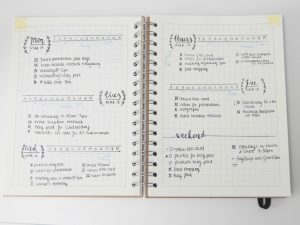 Bullet Journal -Inspiración Volátil Blog