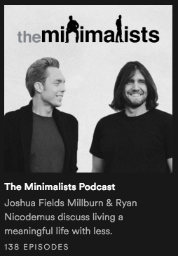 The Minimalists - Inspiración Volátil Blog